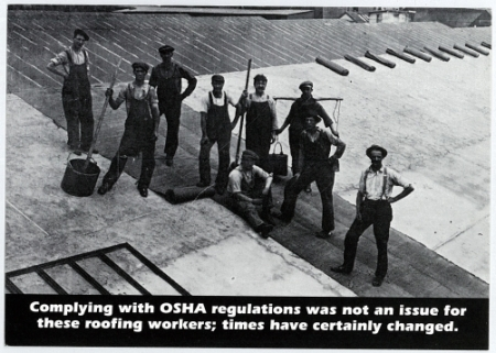 Safety procedures sprick roofing co inc