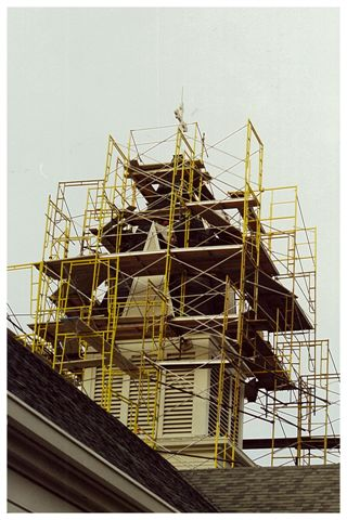 St. Mary's Church Steeple Work - Albany, OR