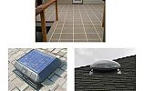Deck Coatings, Sun Tunnel Skylights and Solar Roof Vents